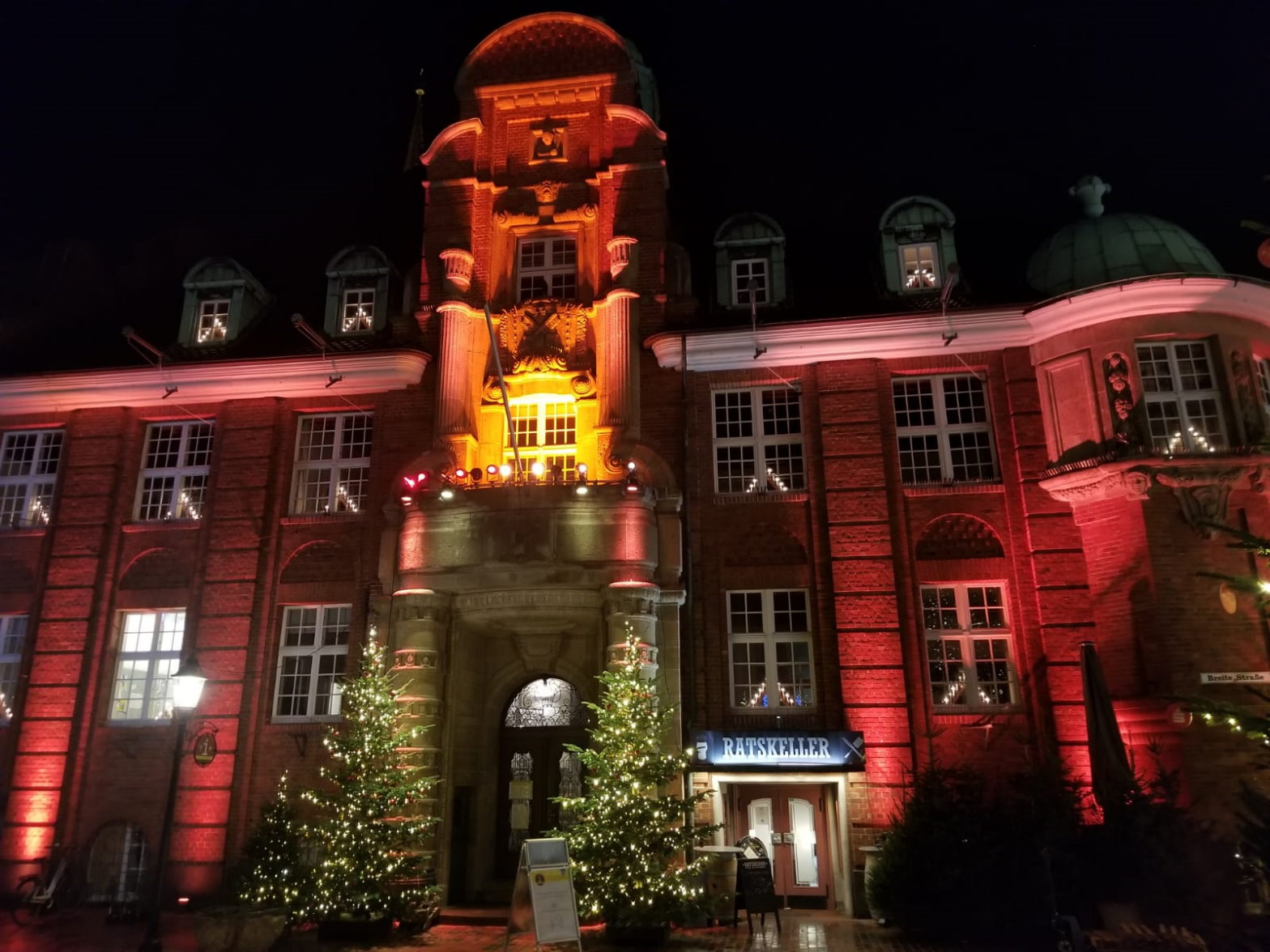 Orange Days Rathaus